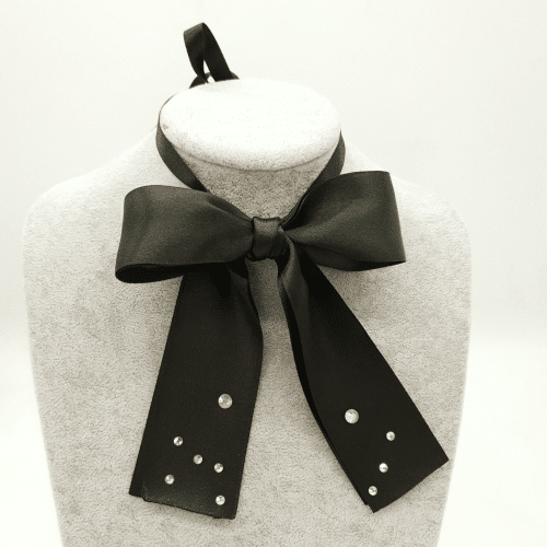 fundă chic, accesoriu fashion, colier handmade