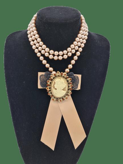 Colier perle lucrat manual